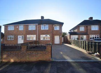 Thumbnail 3 bed semi-detached house for sale in Putteridge Road, Luton