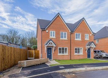 Thumbnail 3 bed semi-detached house for sale in The Seisdon Off Hartshill Road, Hartshill, Stoke-On-Trent