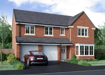 "Thumbnail 5 bed detached house for sale in ""Roddlesworth"" at Church Road, Warton, Preston"