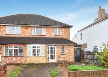 Thumbnail 3 bedroom semi-detached house for sale in Fulford Road, West Ewell, Epsom