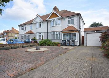 Thumbnail 3 bed semi-detached house for sale in George V Avenue, Margate, Kent