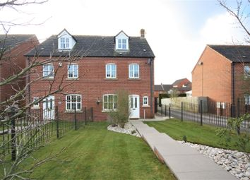 Thumbnail 4 bed semi-detached house for sale in Station Road, Bagworth, Coalville
