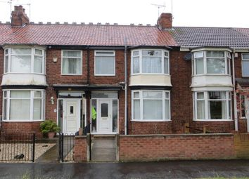 Thumbnail 3 bed terraced house to rent in Pickering Road, Hull
