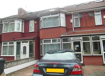 Thumbnail 4 bed terraced house to rent in Park Avenue, Southall