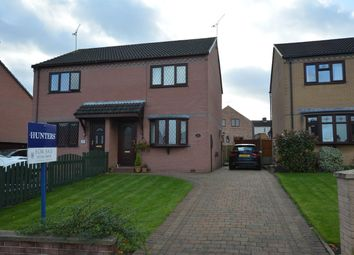 Thumbnail 2 bed semi-detached house for sale in Tansley Road, North Wingfield, Chesterfield