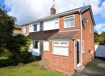 Thumbnail 3 bed semi-detached house for sale in Poplar Avenue, Wetherby, West Yorkshire