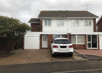 Thumbnail 3 bed semi-detached house to rent in Dunsville Drive, Walsgrave
