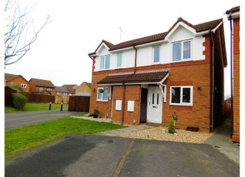 Thumbnail 2 bed semi-detached house for sale in Moorhen Close Covingham, Swindon