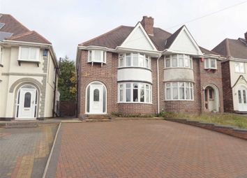 Thumbnail 3 bedroom semi-detached house for sale in Flaxley Road, Stechford, Birmingham