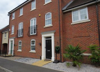 Thumbnail 4 bed town house for sale in Danbury Place, Humberstone, Leicester