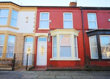 Thumbnail 3 bedroom terraced house for sale in Cardigan Street, Wavertree, Liverpool