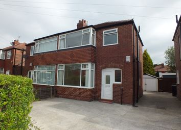 Thumbnail 3 bed semi-detached house to rent in Berkeley Close, Offerton, Stockport