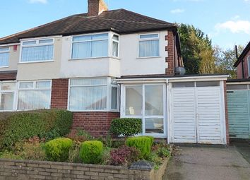 Thumbnail 3 bed semi-detached house for sale in Bellwood Road, Northfield