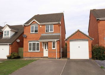 Thumbnail 3 bed detached house for sale in Gale Close, Lutterworth