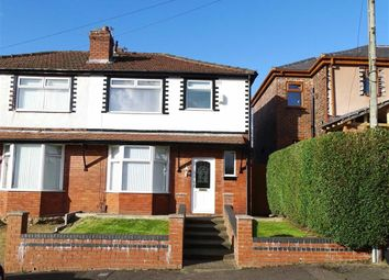 Thumbnail 3 bed semi-detached house to rent in Haversham Road, Crumpsall, Manchester
