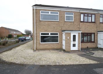 Thumbnail 3 bed end terrace house for sale in Ancaster Court, Scunthorpe