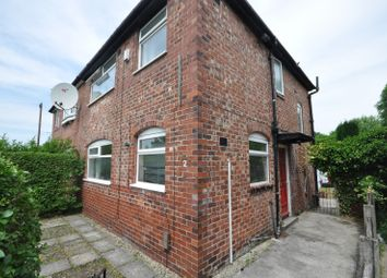 Thumbnail 3 bedroom semi-detached house to rent in Heswall Avenue, Manchester