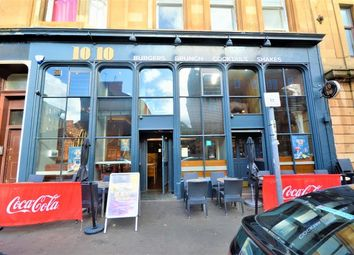 Thumbnail Restaurant/cafe for sale in Radnor Street, Glasgow