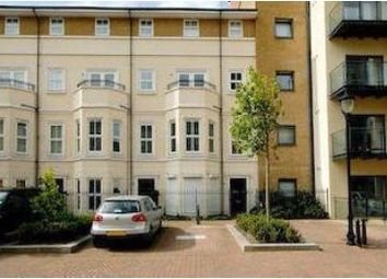 Thumbnail 4 bedroom terraced house to rent in Canal Boulevard, London