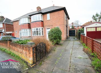 Thumbnail 3 bedroom semi-detached house for sale in Bembridge Close, Leicester
