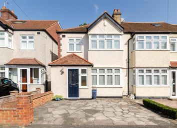 Thumbnail 3 bed end terrace house for sale in Buxton Crescent, Cheam, Surrey