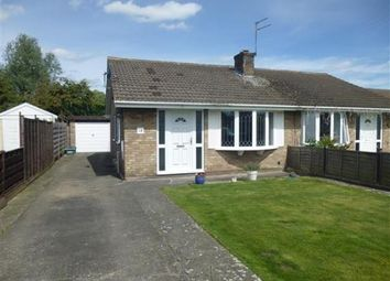 Thumbnail 2 bed semi-detached bungalow for sale in Ryecroft Close, Off Stockton Lane, York