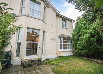 Thumbnail 1 bed flat for sale in 164 St. Marychurch Road, Torquay