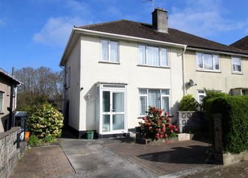 Thumbnail 3 bedroom semi-detached house for sale in Fountains Crescent, Plymouth, Devon