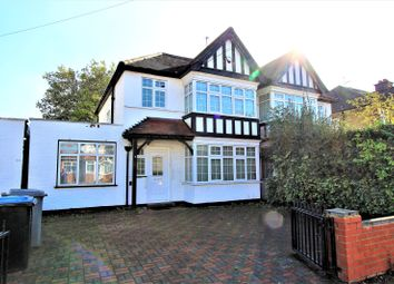 Thumbnail 4 bed semi-detached house for sale in Conway Gardens, Wembley