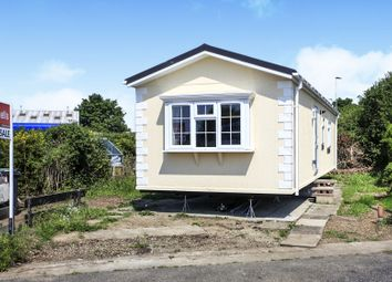 Thumbnail 2 bed mobile/park home for sale in Dukesmead Mobile Home Park, Werrington, Peterborough