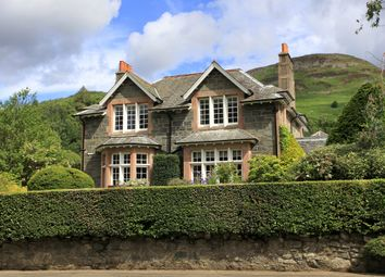 Thumbnail 4 bed detached house for sale in Perthshire, St Fillans