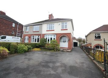 Thumbnail 3 bed semi-detached house for sale in Halls Road, Biddulph, Stoke-On-Trent