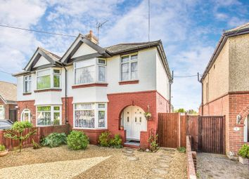 Thumbnail 3 bed semi-detached house for sale in Thornhill Avenue, Southampton