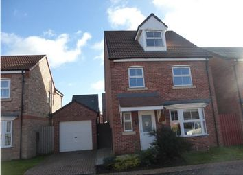Thumbnail 4 bed detached house to rent in Linnet Garth, Scunthorpe