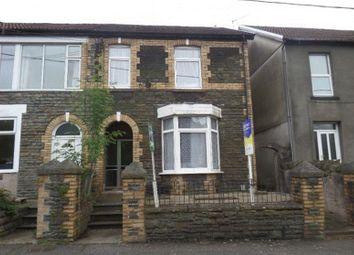 Thumbnail 4 bed semi-detached house for sale in Llantwit Road, Treforest, Pontypridd