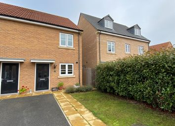 Thumbnail 2 bed end terrace house for sale in Southlands Court, South Milford, Leeds