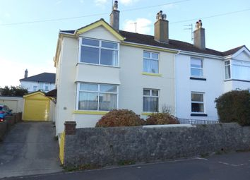 Thumbnail 3 bedroom semi-detached house for sale in Chatsworth Road, Torquay