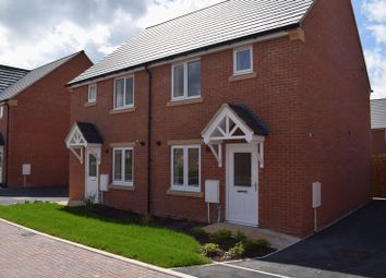 Thumbnail 2 bed terraced house for sale in Leofric Court, Copcut, Droitwich