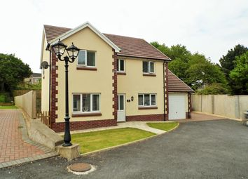 Thumbnail 4 bed detached house for sale in Pemberton, Llanelli