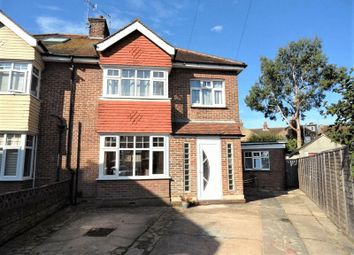 Thumbnail 4 bed semi-detached house for sale in Peverel Road, Worthing