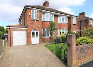 Thumbnail 3 bed semi-detached house for sale in Broadstone Hall Road North, Heaton Chapel, Stockport
