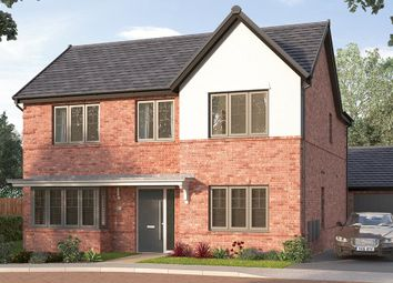 "Thumbnail 4 bed detached house for sale in ""The Modbury"" at Wallef Road, Brailsford, Ashbourne"