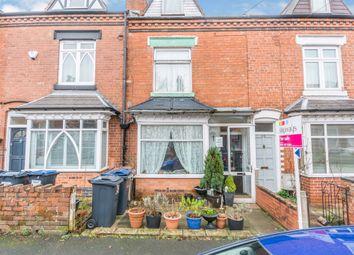 3 bed terraced house for sale in Regent Road, Harborne, Birmingham B17