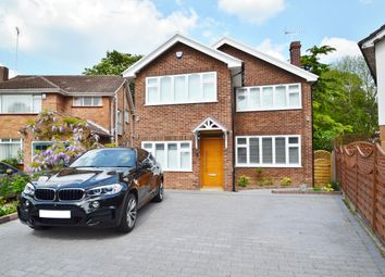 Thumbnail 4 bed detached house for sale in Thatcham Gardens, Whetstone