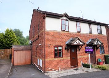 Thumbnail 2 bed semi-detached house for sale in Coughton Drive, Leamington Spa