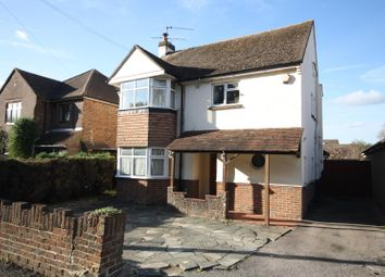 Thumbnail 3 bed detached house for sale in Povey Cross Road, Horley