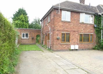 Thumbnail 1 bed maisonette for sale in Lucas Road, Burbage, Hinckley