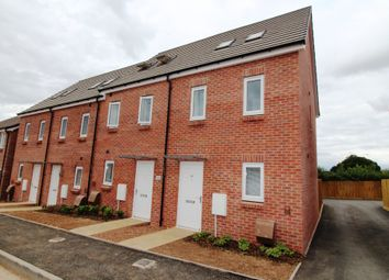 Thumbnail 3 bed end terrace house to rent in Luccombe Oak, Cranbrook, Exeter