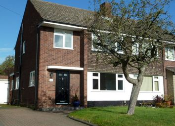 Thumbnail 3 bed semi-detached house to rent in Dower Road, Four Oaks, Sutton Coldfield