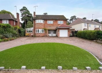 Thumbnail 4 bedroom detached house for sale in Caenshill Road, Weybridge, Surrey